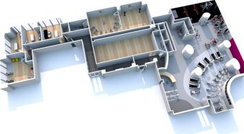 Gym Design 3D Cad Modelling